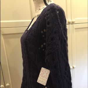 NWT Free People size M amethyst sweater